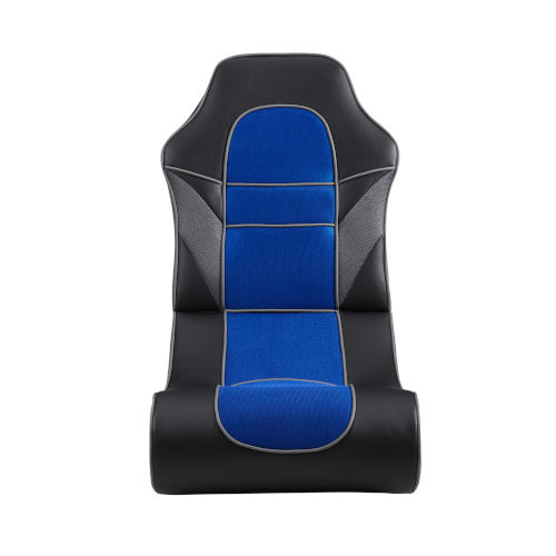 Noah Black and Blue Game Rocking Chair
