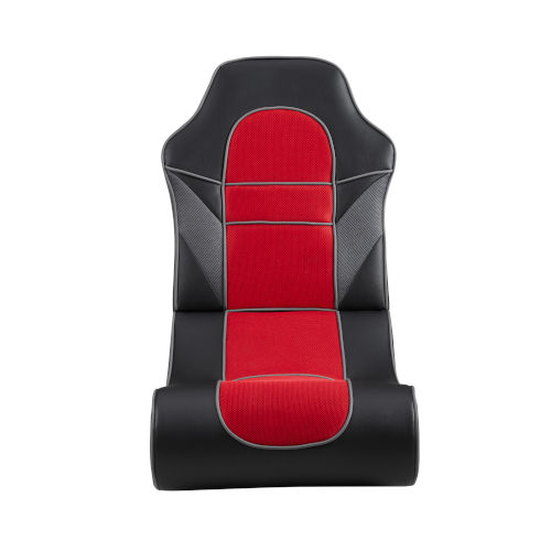 Noah Black and Red Game Rocking Chair
