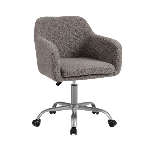 Rylen Gray and Silver Office Chair
