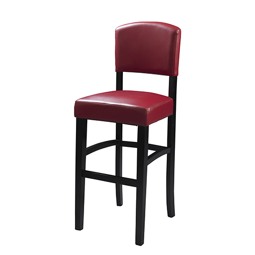 Monaco Red 24-Inch Counter Stool