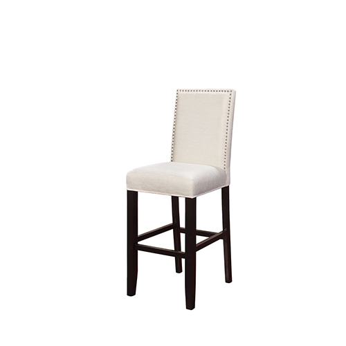 Brighton Hill Stewart Crystal White 30-Inch Bar Stool