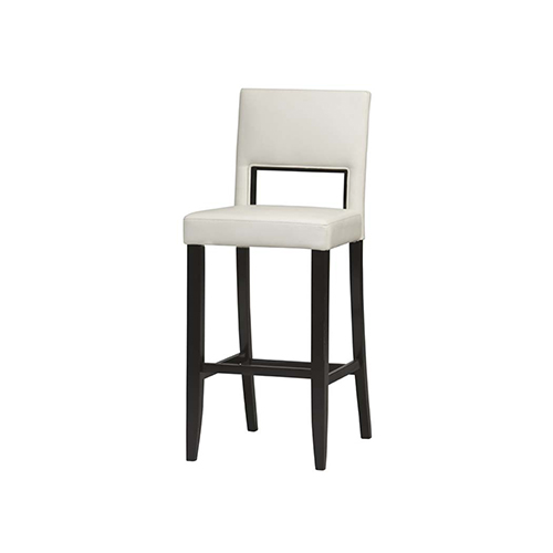 Astounding Brighton Hill Vega White 30 Inch Bar Stool Andrewgaddart Wooden Chair Designs For Living Room Andrewgaddartcom
