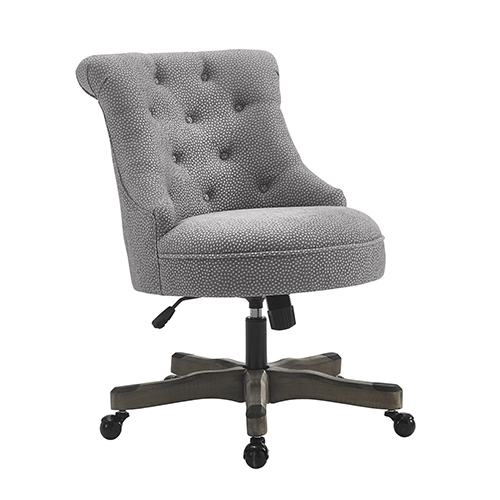 brighton hill sinclair light gray office chair 178403ltgry01u bellacor