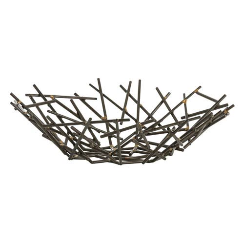 Grazia Natural Iron Centerpiece