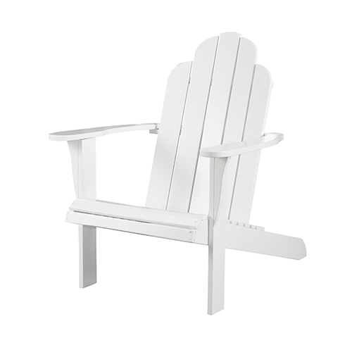 White Outdoor Adirondack Chair