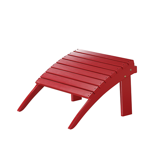 Red Outdoor Ottoman