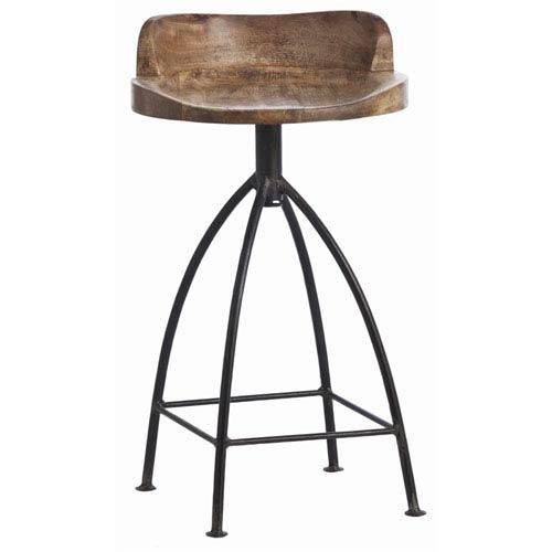 Henson Sandblast Antique Wax 28-Inch Barstool