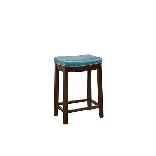 Brighton Hill Claridge Blue 24 Inch Counter Stool 55815blu01u Bellacor