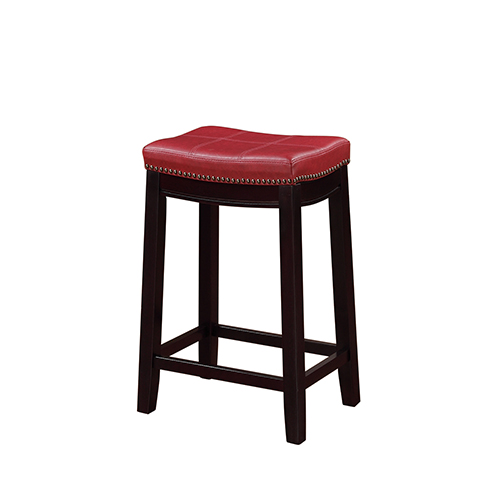 Brighton Hill Claridge Dark Espresso 24 Inch Counter Stool