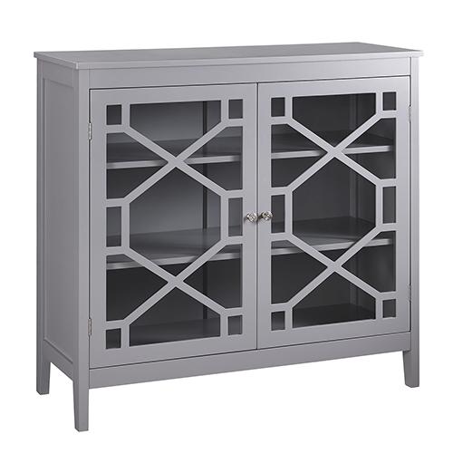 Fetti Gray Large Cabinet