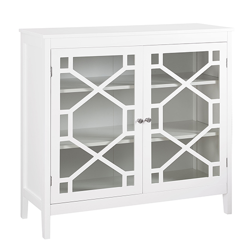 Brighton Hill Fetti White Large Cabinet