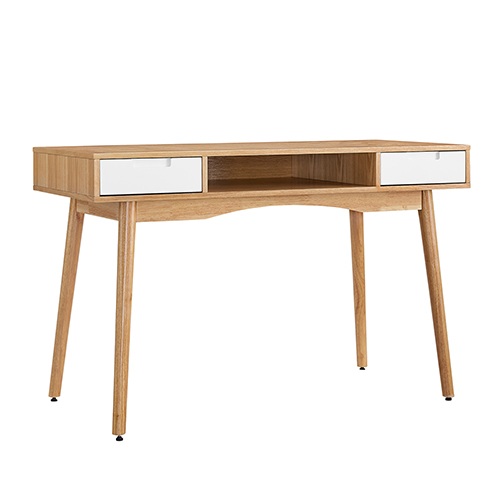 Perry Natural and White Desk