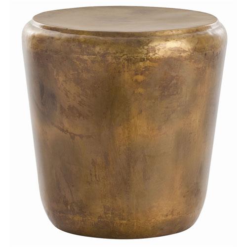 Arteriors Home Santiago Burnt Brass 21.5-Inch End Table