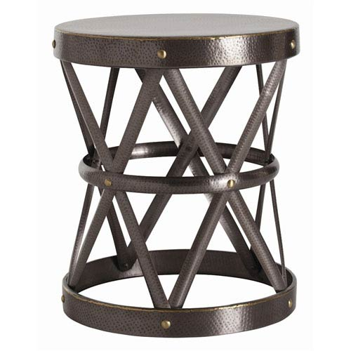 Arteriors Home Costello Natural Iron 26 Inch X Base Side Table