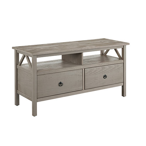 Titian Rustic Gray TV Stand