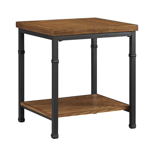 Brighton Hill Austin Black and Ash Veneer End Table