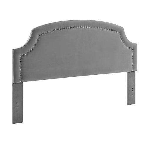 Regency Dove Upholstered King Headboard