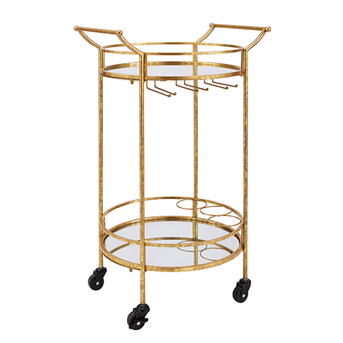Cameron Round Bar Cart