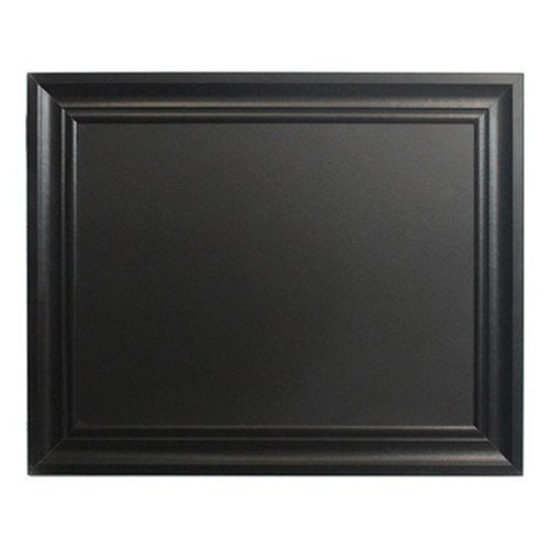 Brighton Hill Bentwood Black 24 x 30 In. Chalkboard with Black Frame