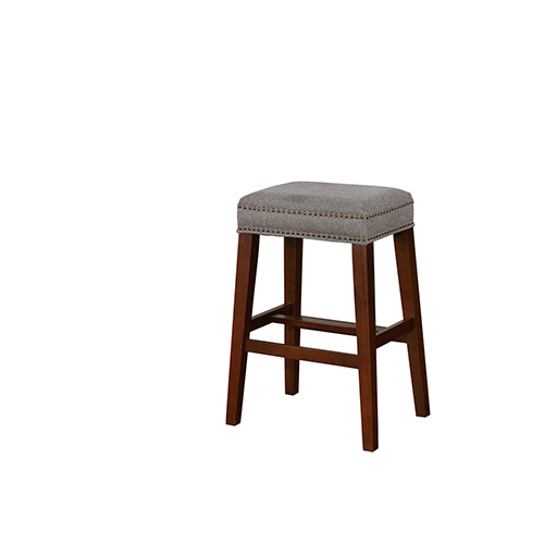 Brighton Hill Walt Gray 31-Inch Bar Stool