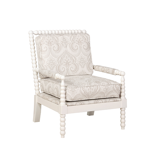 Brighton Hill Sussex Cream Upholstered Chair