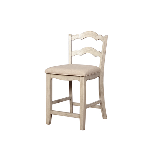 Brighton Hill June White Wash 24 Inch Counter Stool Cs005gry01u
