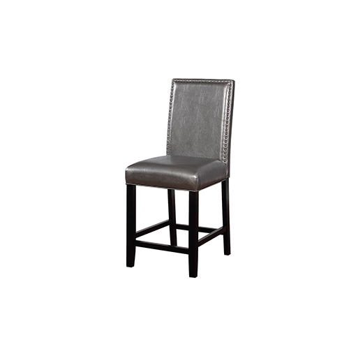 Brighton Hill Stevie Pewter 24-Inch Counter Stool