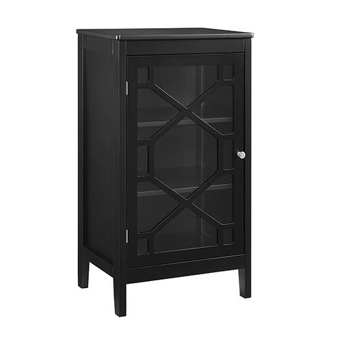 Felicia Black Small Cabinet