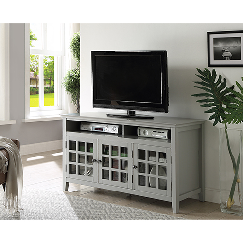 Brighton Hill Leslie Gray Media Cabinet