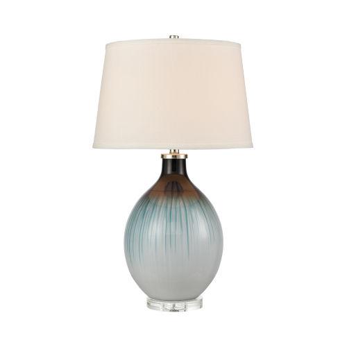Arbor Blue Black One-Light Table Lamp