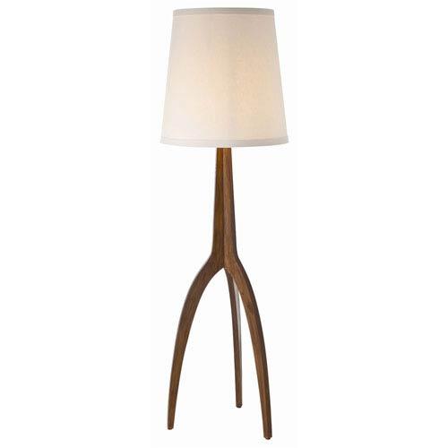 Linden Walnut One Light Tripod Floor Lamp