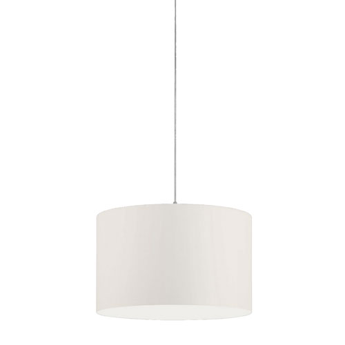 Grannus White 20-Inch One-Light Pendant
