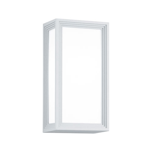 Timok White One-Light Outdoor Wall Sconce