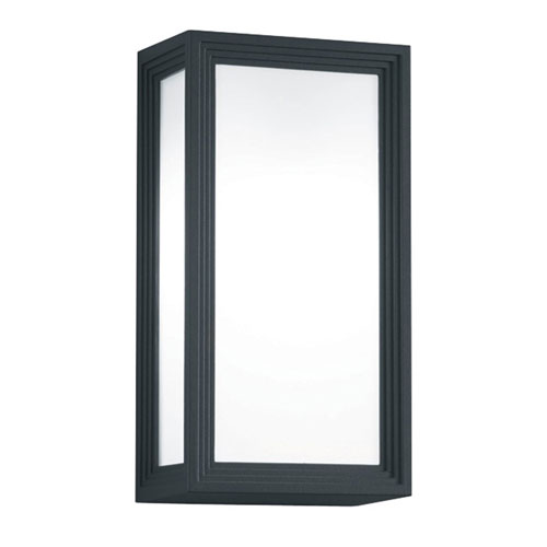 Timok Dark Grey One-Light Outdoor Wall Sconce