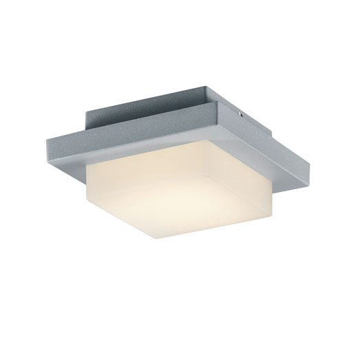 Hondo Titanium and Light Grey LED Outdoor Wall Sconce