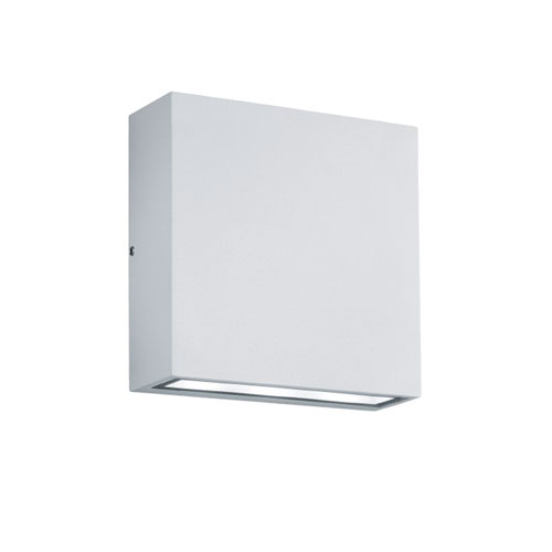 Thames White LED Outdoor Wall Sconce