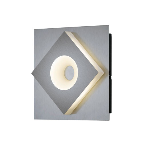Atlanta Matte Nickel 6-Inch LED Wall Sconce