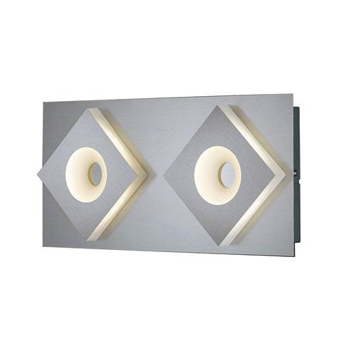 Arnsberg Atlanta Matte Nickel 16-Inch LED Wall Sconce