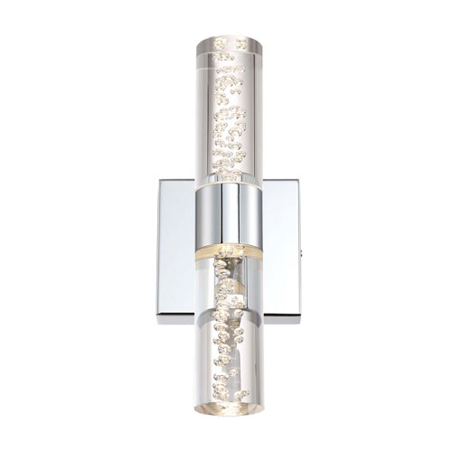 Arnsberg H2O Chrome 4-Inch LED Bathroom Light