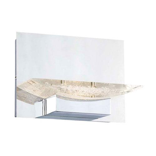 H2O Chrome 7-Inch LED Bathroom Light