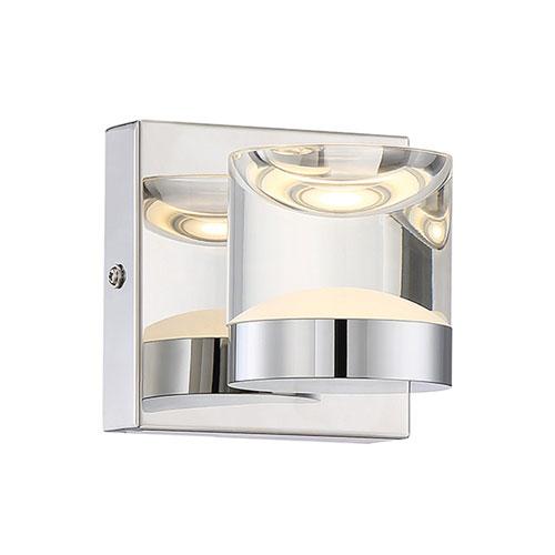 Arnsberg H2O Chrome 7-Inch LED Bathroom  Light