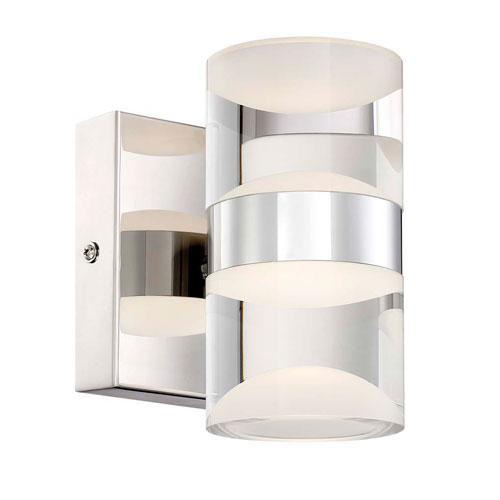 Arnsberg H2O Chrome 10-Inch LED Bathroom  Light