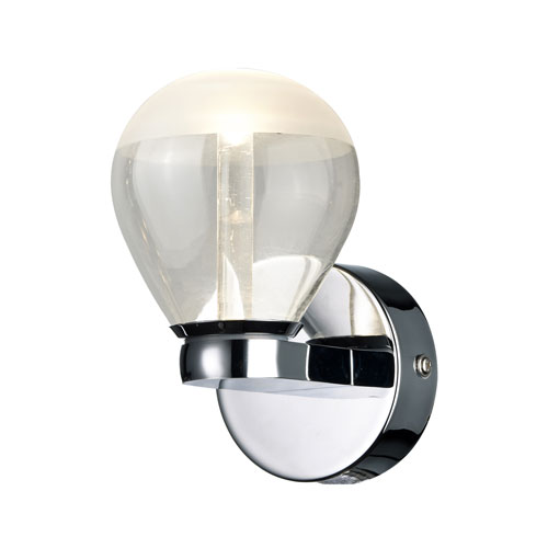 Arnsberg H2O Chrome 11-Inch LED Bathroom  Light