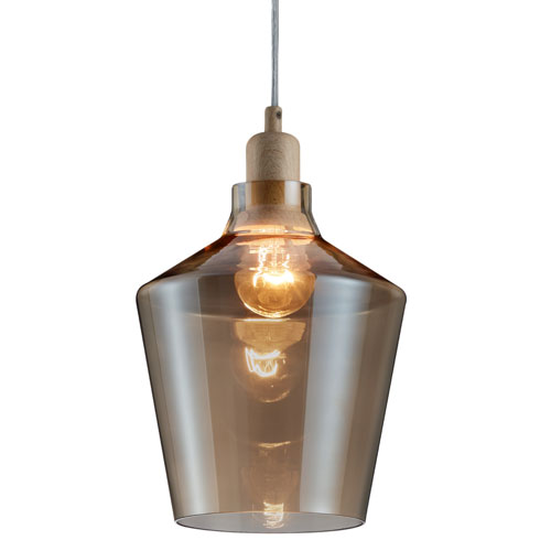 Calais Transparent One-Light Mini Pendant