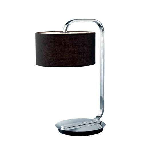 Cannes Chrome One-Light Table Lamp