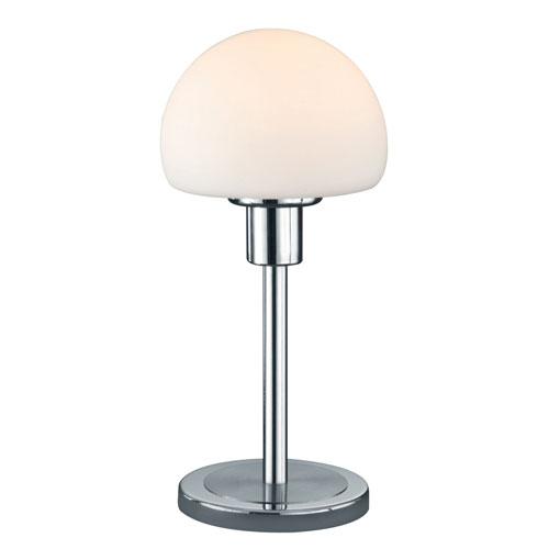 Wilhelm Matte Nickel LED Table Lamp