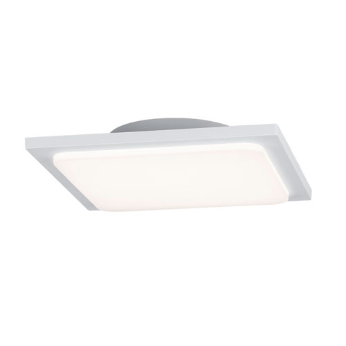 Trave White LED Outdoor Ceiling Light