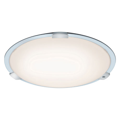 Yokohama White 30-Inch  LED Flush Mount with Remote Control