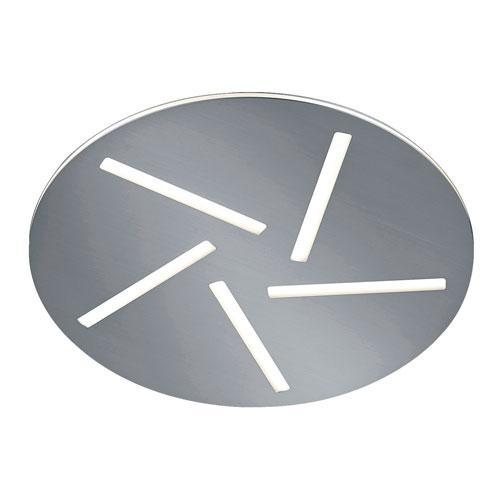 Modena Matte Nickel 16-Inch LED Flush Mount