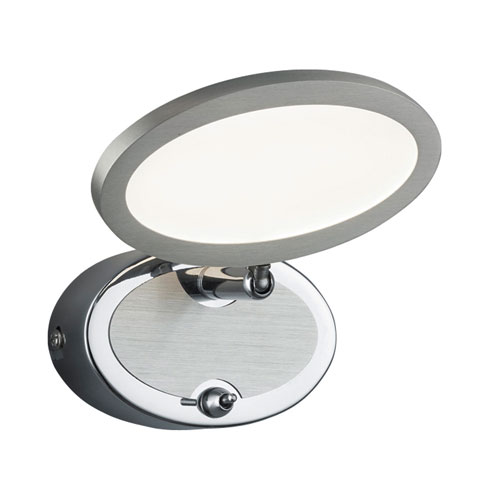 Duellant Chrome 5-Inch LED Wall Light